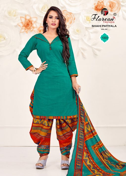Floreon Trends Shahi Patiyala Vol 3 Salwar Suit Wholesale Catalog 8 Pcs 5 510x714 - Floreon Trends Shahi Patiyala Vol 3 Salwar Suit Wholesale Catalog 8 Pcs