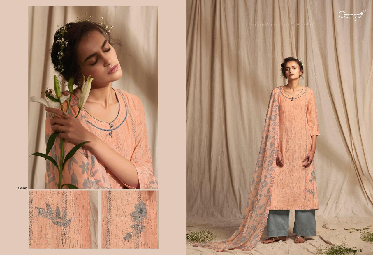 Ganga Colour Wave Salwar Suit Wholesale Catalog 6 Pcs 3 - Ganga Colour Wave Salwar Suit Wholesale Catalog 6 Pcs