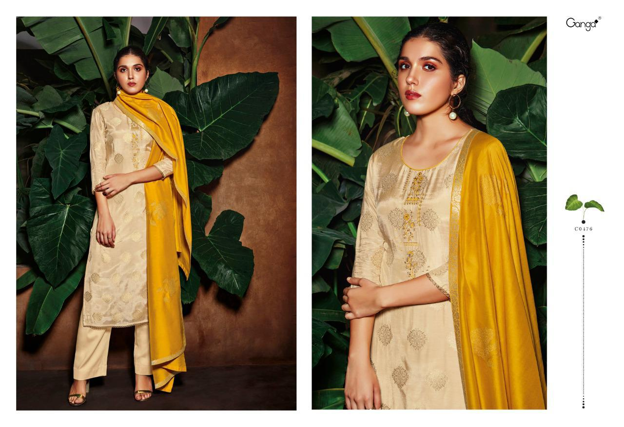 Ganga Rooh Salwar Suit Wholesale Catalog 6 Pcs 1 - Ganga Rooh Salwar Suit Wholesale Catalog 6 Pcs