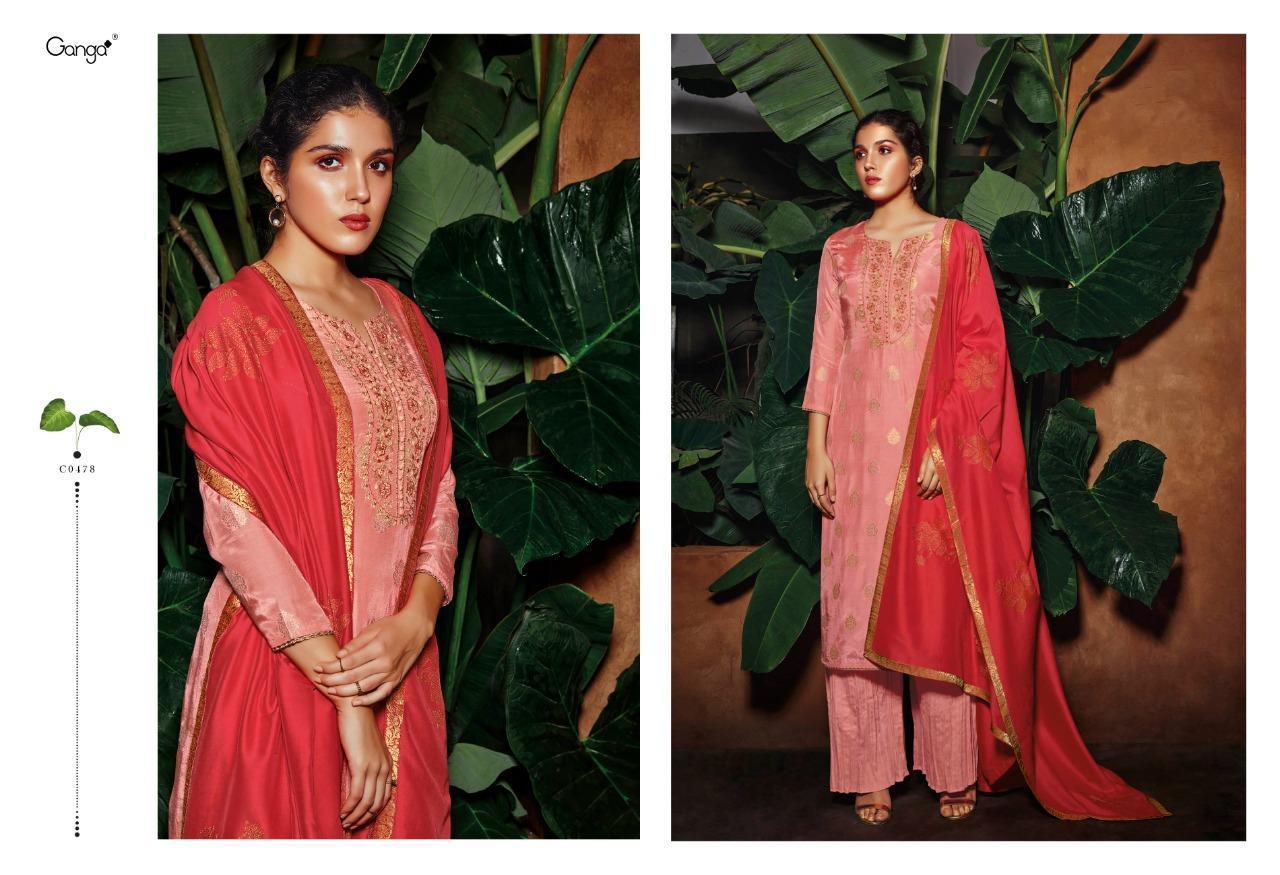 Ganga Rooh Salwar Suit Wholesale Catalog 6 Pcs 3 - Ganga Rooh Salwar Suit Wholesale Catalog 6 Pcs