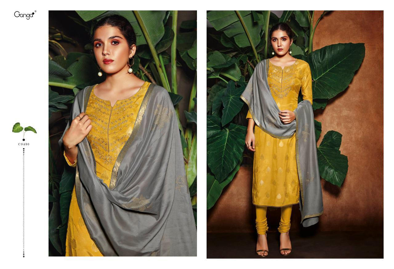 Ganga Rooh Salwar Suit Wholesale Catalog 6 Pcs 5 - Ganga Rooh Salwar Suit Wholesale Catalog 6 Pcs