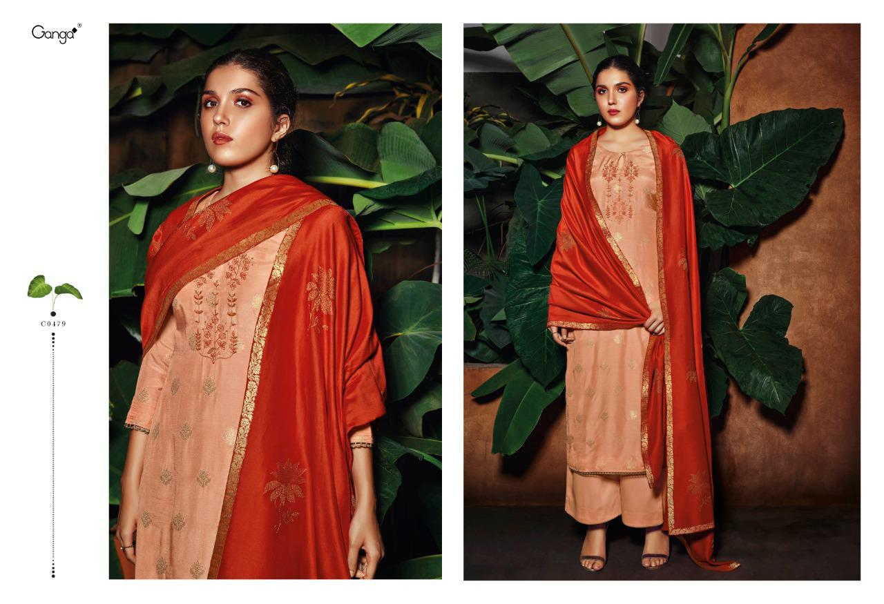 Ganga Rooh Salwar Suit Wholesale Catalog 6 Pcs 6 - Ganga Rooh Salwar Suit Wholesale Catalog 6 Pcs