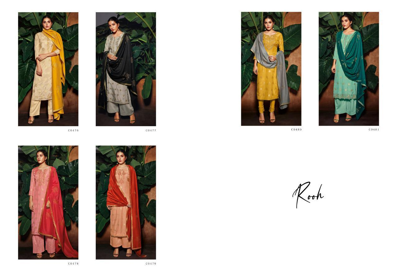 Ganga Rooh Salwar Suit Wholesale Catalog 6 Pcs 8 - Ganga Rooh Salwar Suit Wholesale Catalog 6 Pcs