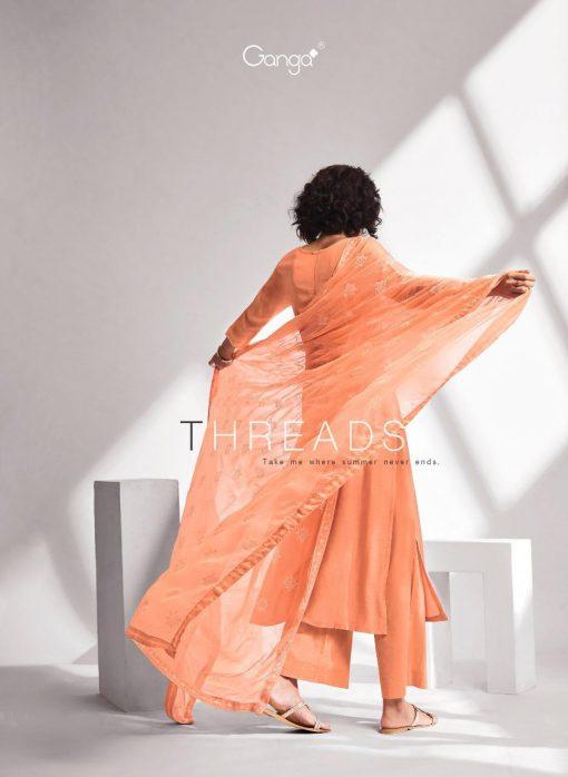 Ganga Threads Salwar Suit Wholesale Catalog 6 Pcs 1 510x698 - Ganga Threads Salwar Suit Wholesale Catalog 6 Pcs
