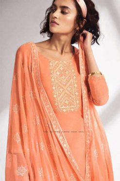Ganga Threads Salwar Suit Wholesale Catalog 6 Pcs