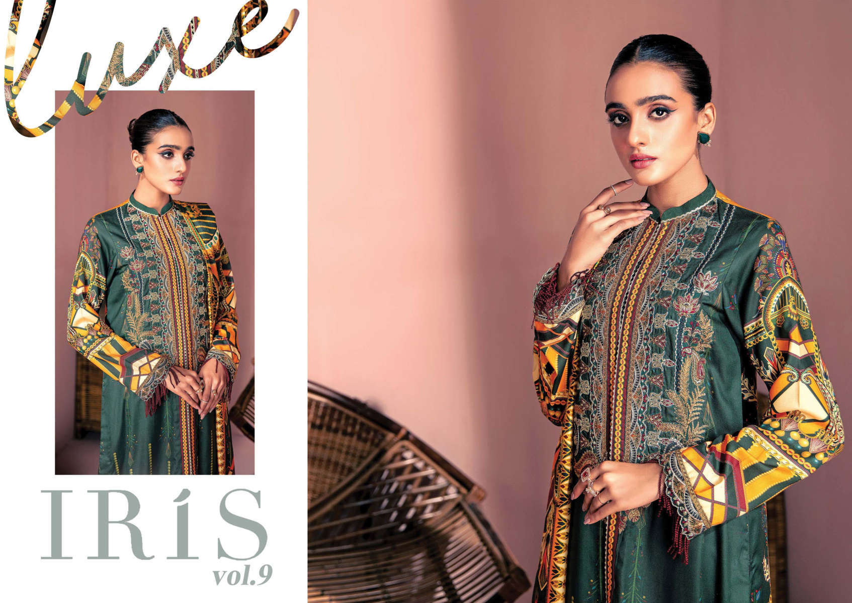 Iris Vol 9 Karachi Cotton Salwar Suit Wholesale Catalog 10 Pcs 12 - Iris Vol 9 Karachi Cotton Salwar Suit Wholesale Catalog 10 Pcs