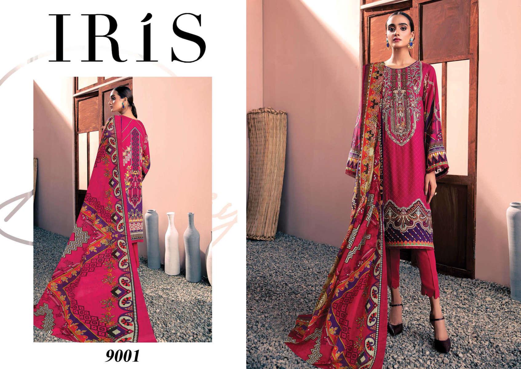 Iris Vol 9 Karachi Cotton Salwar Suit Wholesale Catalog 10 Pcs 3 - Iris Vol 9 Karachi Cotton Salwar Suit Wholesale Catalog 10 Pcs
