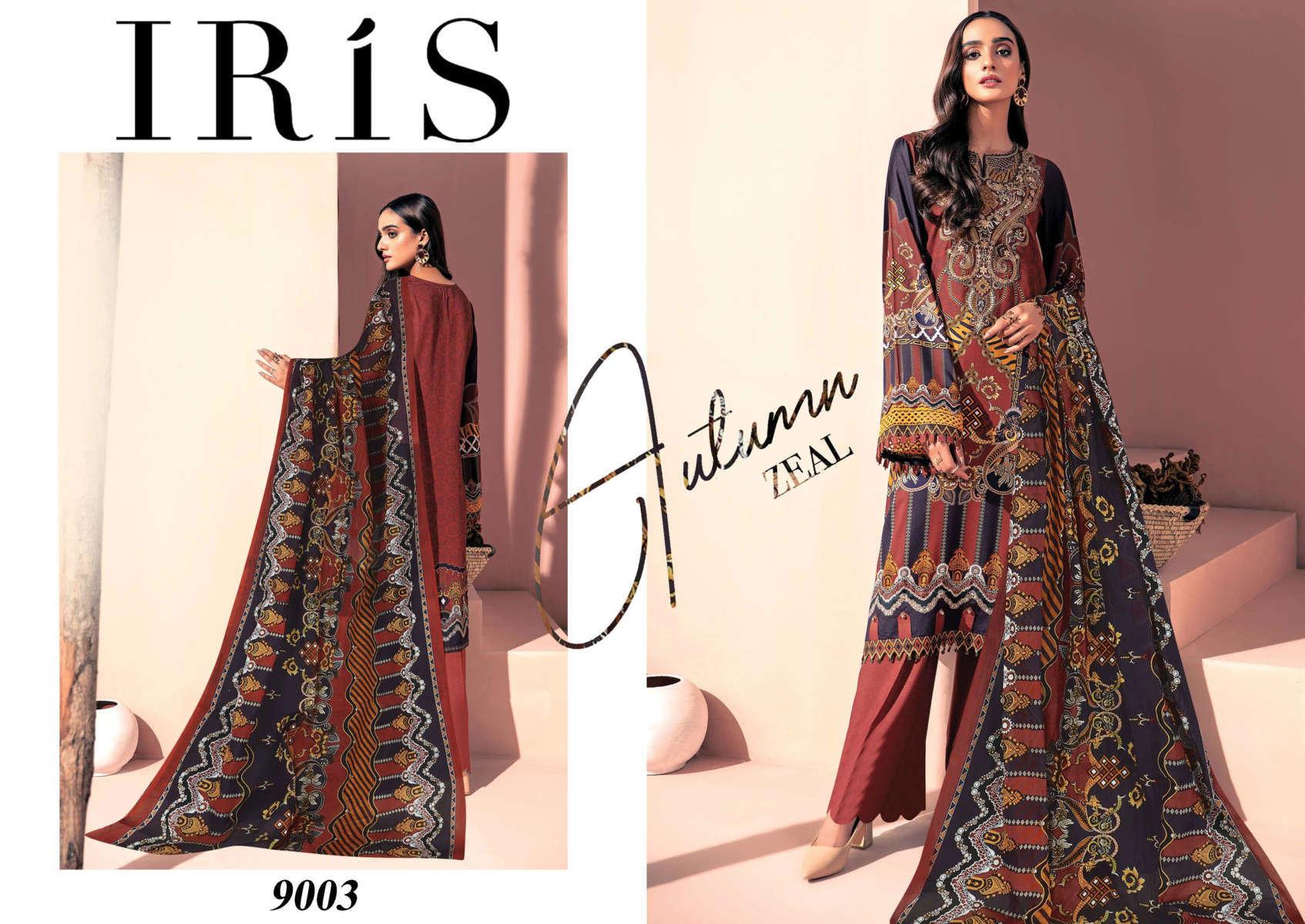 Iris Vol 9 Karachi Cotton Salwar Suit Wholesale Catalog 10 Pcs 5 - Iris Vol 9 Karachi Cotton Salwar Suit Wholesale Catalog 10 Pcs