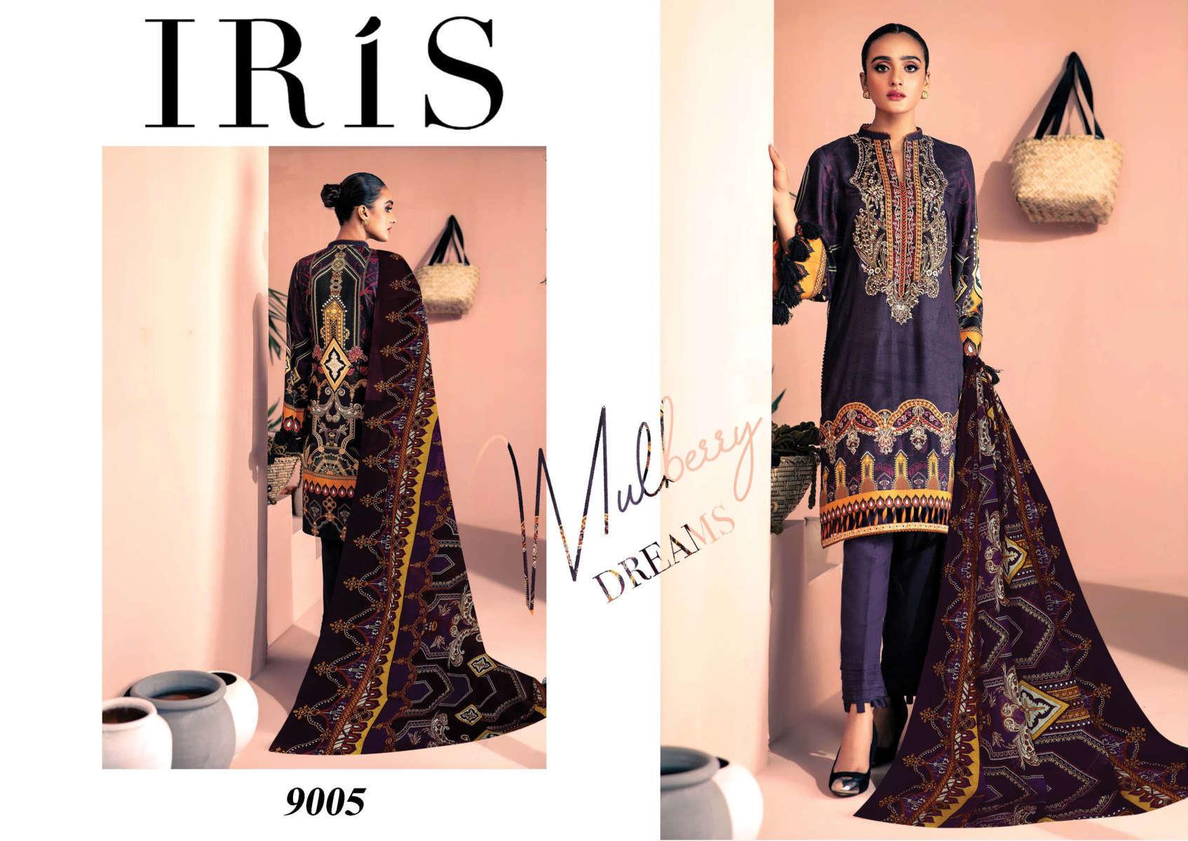 Iris Vol 9 Karachi Cotton Salwar Suit Wholesale Catalog 10 Pcs 6 - Iris Vol 9 Karachi Cotton Salwar Suit Wholesale Catalog 10 Pcs