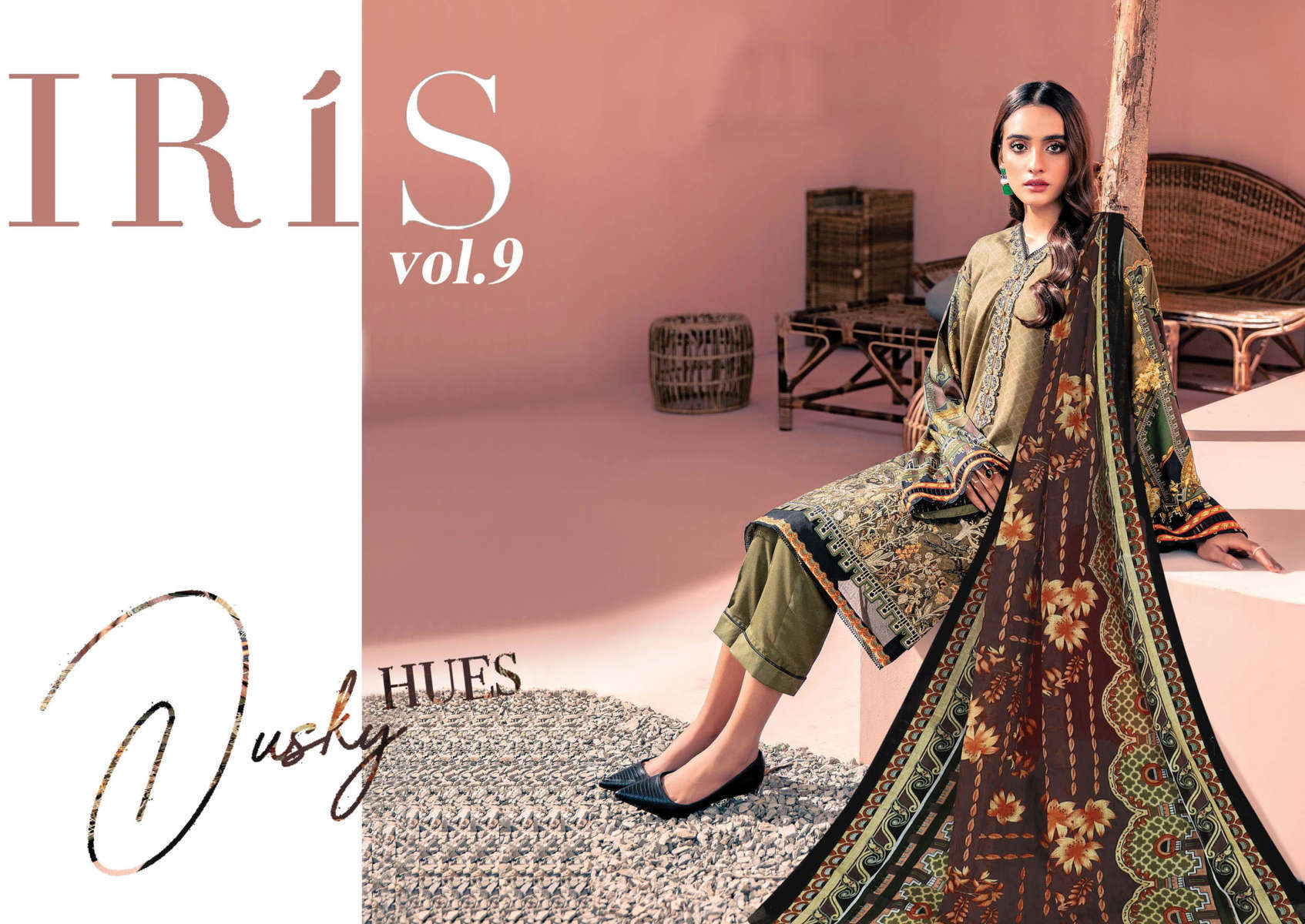 Iris Vol 9 Karachi Cotton Salwar Suit Wholesale Catalog 10 Pcs 8 - Iris Vol 9 Karachi Cotton Salwar Suit Wholesale Catalog 10 Pcs