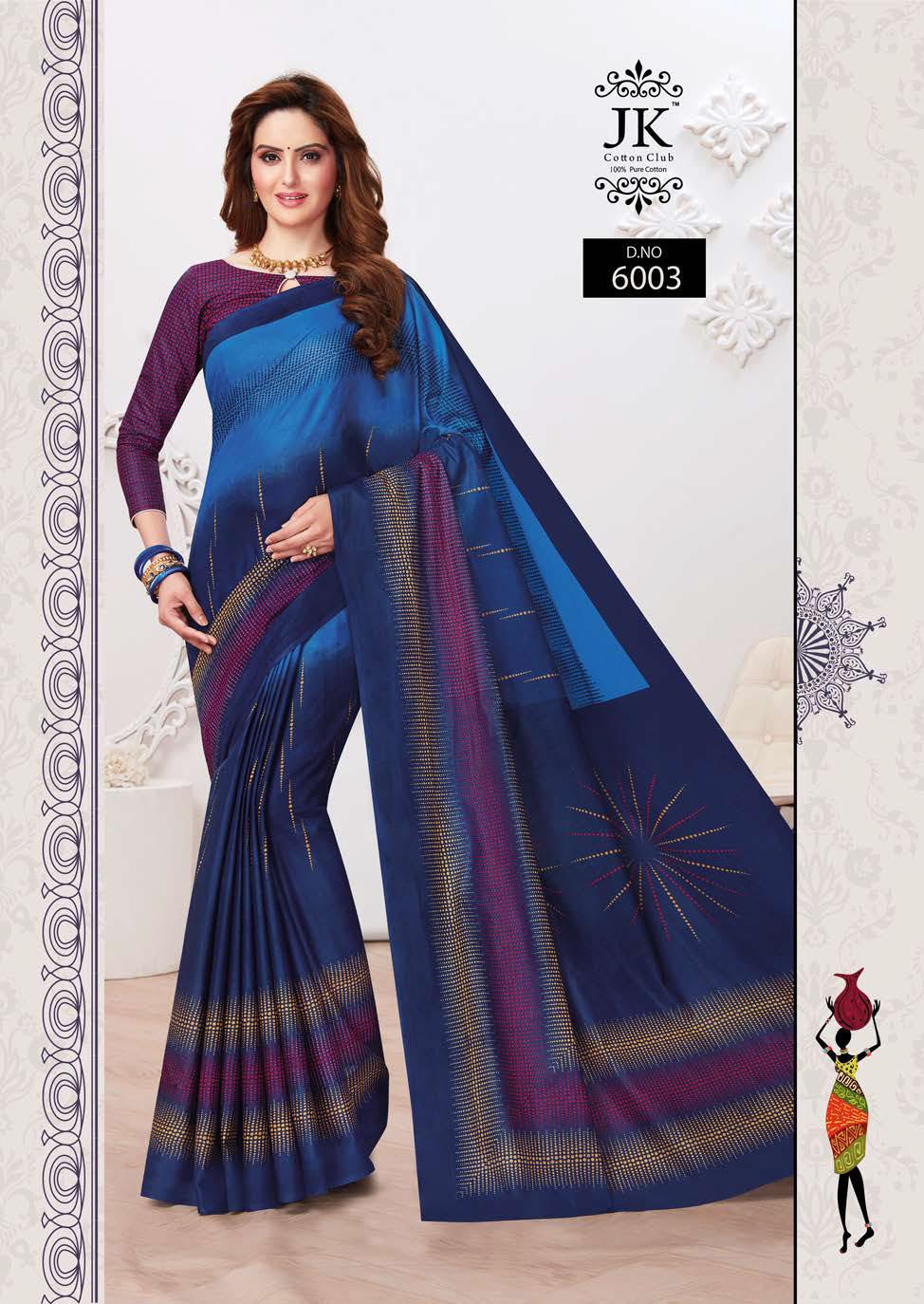 JK Tulsi Vol 6 A Saree Sari Wholesale Catalog 10 Pcs 2 - JK Tulsi Vol 6 A Saree Sari Wholesale Catalog 10 Pcs