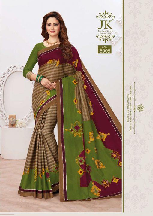 JK Tulsi Vol 6 A Saree Sari Wholesale Catalog 10 Pcs 3 510x719 - JK Tulsi Vol 6 A Saree Sari Wholesale Catalog 10 Pcs