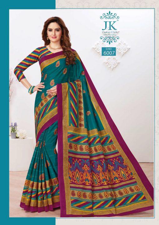 JK Tulsi Vol 6 A Saree Sari Wholesale Catalog 10 Pcs 4 510x719 - JK Tulsi Vol 6 A Saree Sari Wholesale Catalog 10 Pcs