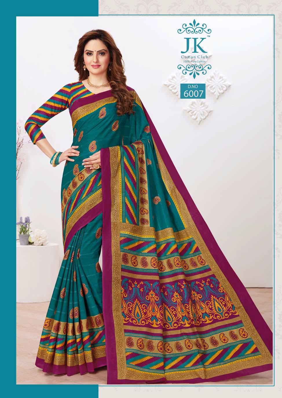 JK Tulsi Vol 6 A Saree Sari Wholesale Catalog 10 Pcs 4 - JK Tulsi Vol 6 A Saree Sari Wholesale Catalog 10 Pcs