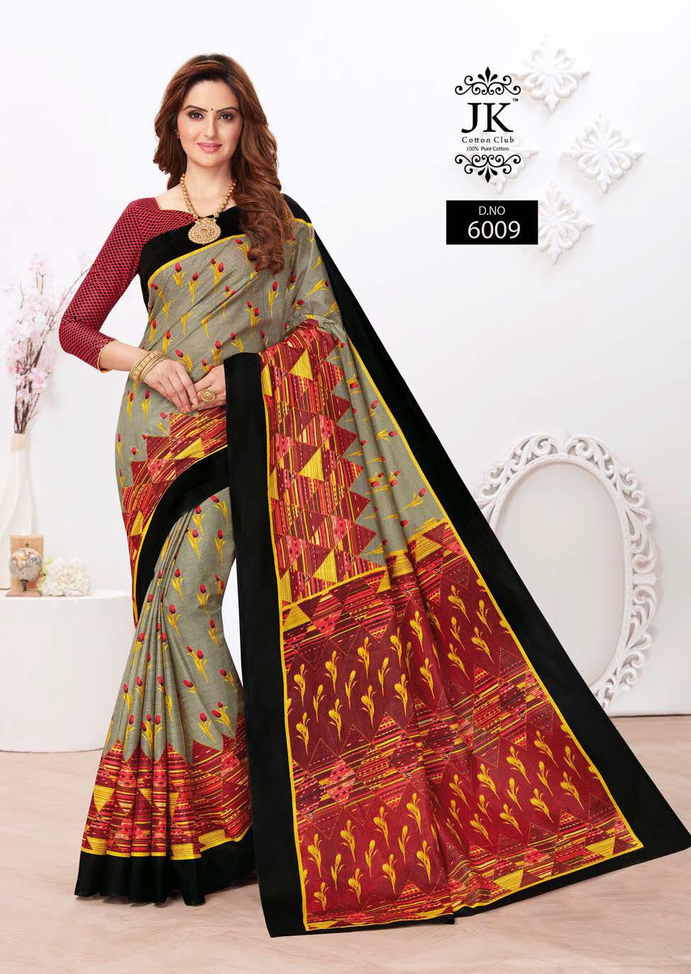 JK Tulsi Vol 6 A Saree Sari Wholesale Catalog 10 Pcs 5 - JK Tulsi Vol 6 A Saree Sari Wholesale Catalog 10 Pcs