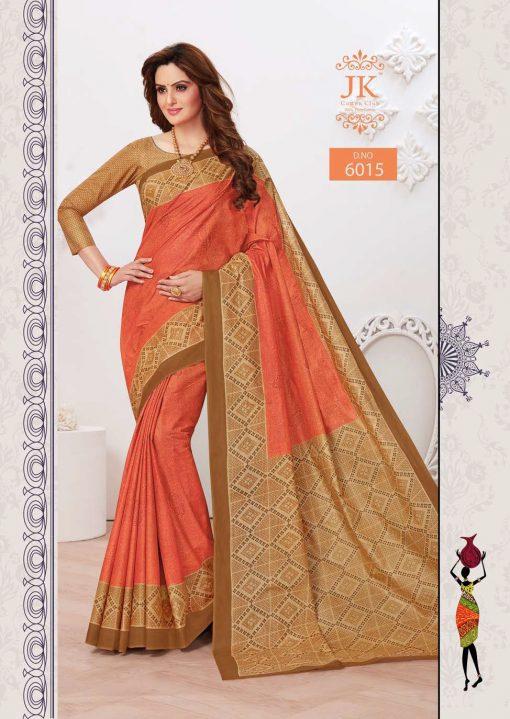 JK Tulsi Vol 6 A Saree Sari Wholesale Catalog 10 Pcs 8 510x719 - JK Tulsi Vol 6 A Saree Sari Wholesale Catalog 10 Pcs