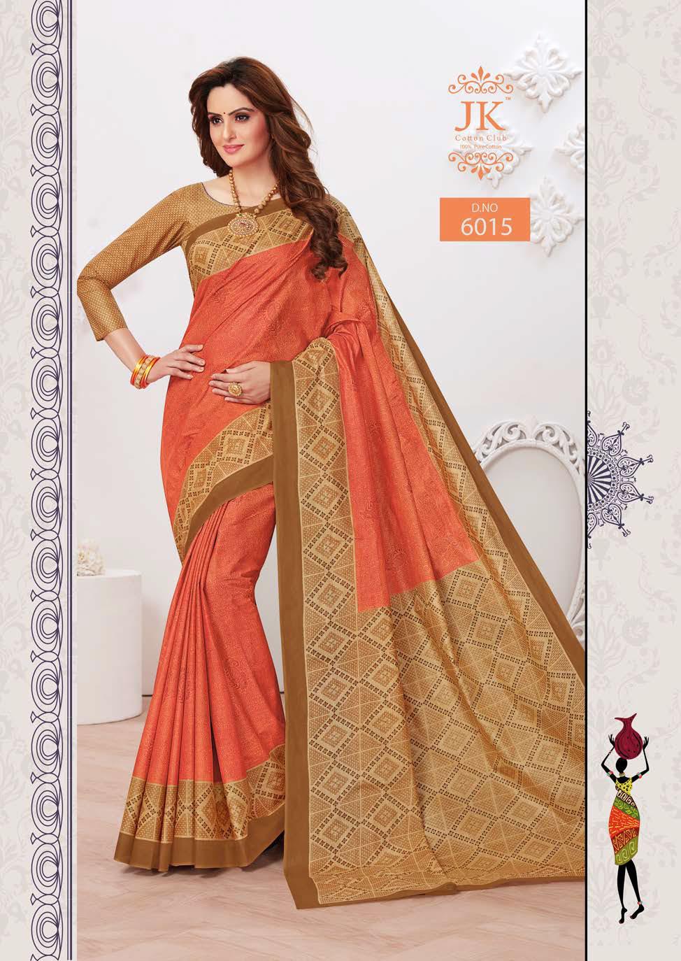 JK Tulsi Vol 6 A Saree Sari Wholesale Catalog 10 Pcs 8 - JK Tulsi Vol 6 A Saree Sari Wholesale Catalog 10 Pcs
