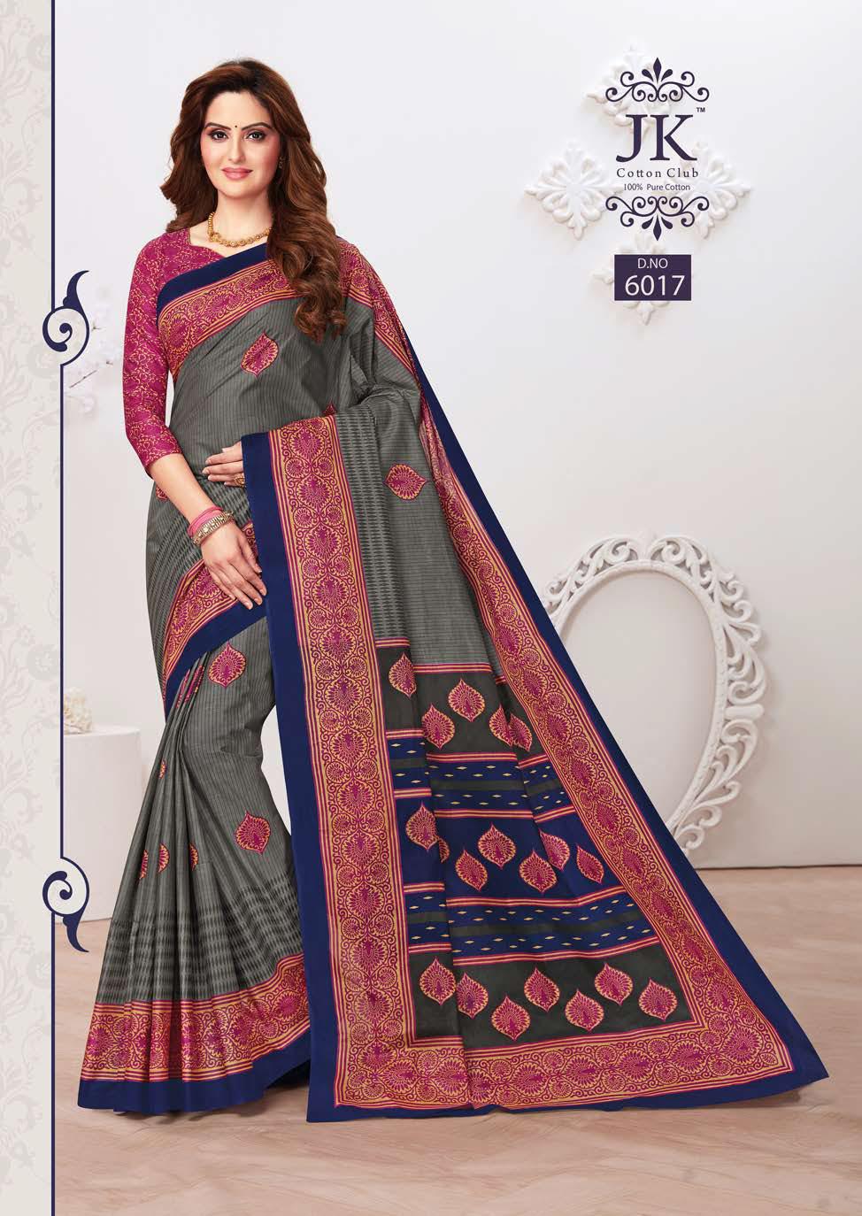 JK Tulsi Vol 6 A Saree Sari Wholesale Catalog 10 Pcs 9 - JK Tulsi Vol 6 A Saree Sari Wholesale Catalog 10 Pcs