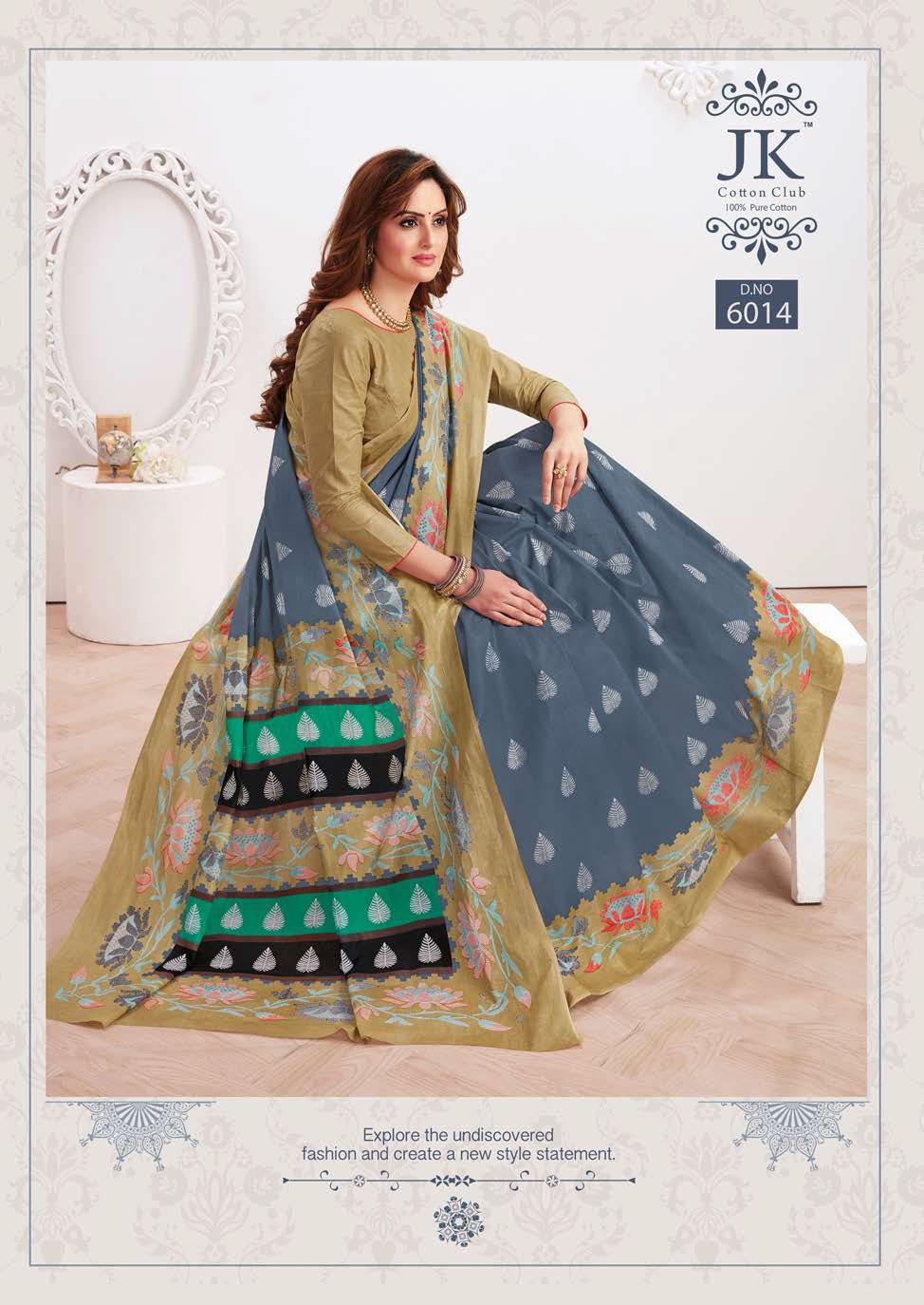 JK Tulsi Vol 6 B Saree Sari Wholesale Catalog 10 Pcs 10 - JK Tulsi Vol 6 B Saree Sari Wholesale Catalog 10 Pcs