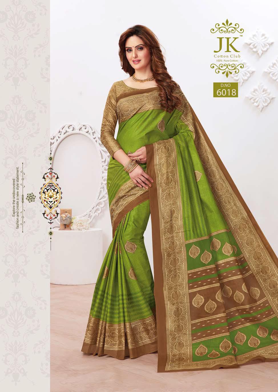 JK Tulsi Vol 6 B Saree Sari Wholesale Catalog 10 Pcs 14 - JK Tulsi Vol 6 B Saree Sari Wholesale Catalog 10 Pcs