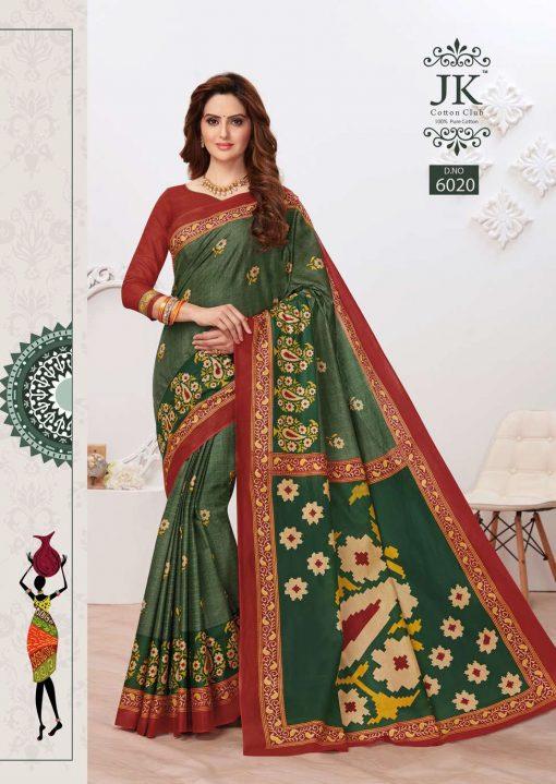 JK Tulsi Vol 6 B Saree Sari Wholesale Catalog 10 Pcs 15 510x719 - JK Tulsi Vol 6 B Saree Sari Wholesale Catalog 10 Pcs