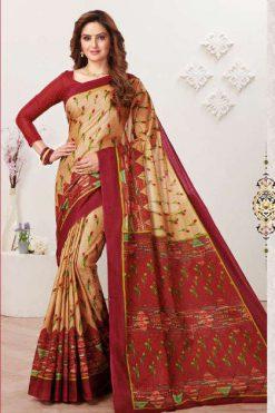 JK Tulsi Vol 6 B Saree Sari Wholesale Catalog 10 Pcs