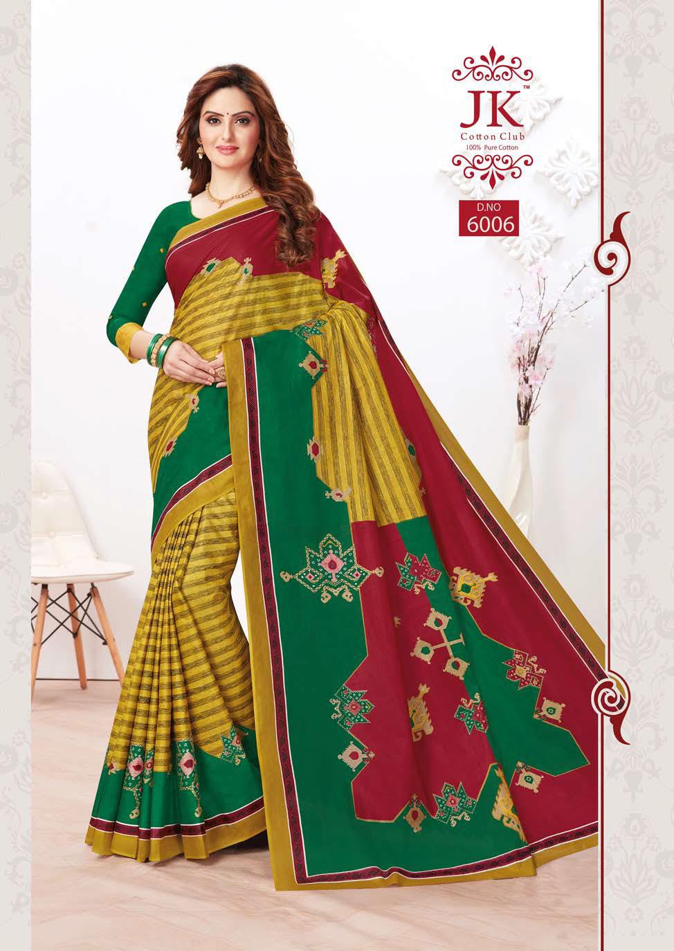 JK Tulsi Vol 6 B Saree Sari Wholesale Catalog 10 Pcs 4 - JK Tulsi Vol 6 B Saree Sari Wholesale Catalog 10 Pcs