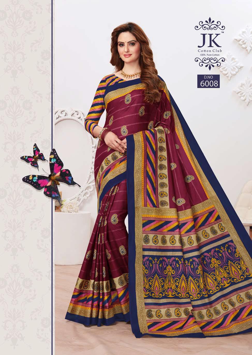 JK Tulsi Vol 6 B Saree Sari Wholesale Catalog 10 Pcs 5 - JK Tulsi Vol 6 B Saree Sari Wholesale Catalog 10 Pcs