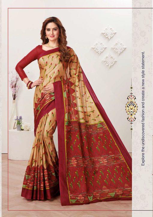 JK Tulsi Vol 6 B Saree Sari Wholesale Catalog 10 Pcs 7 510x719 - JK Tulsi Vol 6 B Saree Sari Wholesale Catalog 10 Pcs