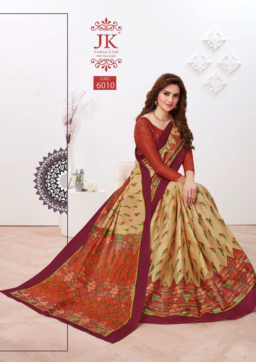 JK Tulsi Vol 6 B Saree Sari Wholesale Catalog 10 Pcs 8 - JK Tulsi Vol 6 B Saree Sari Wholesale Catalog 10 Pcs