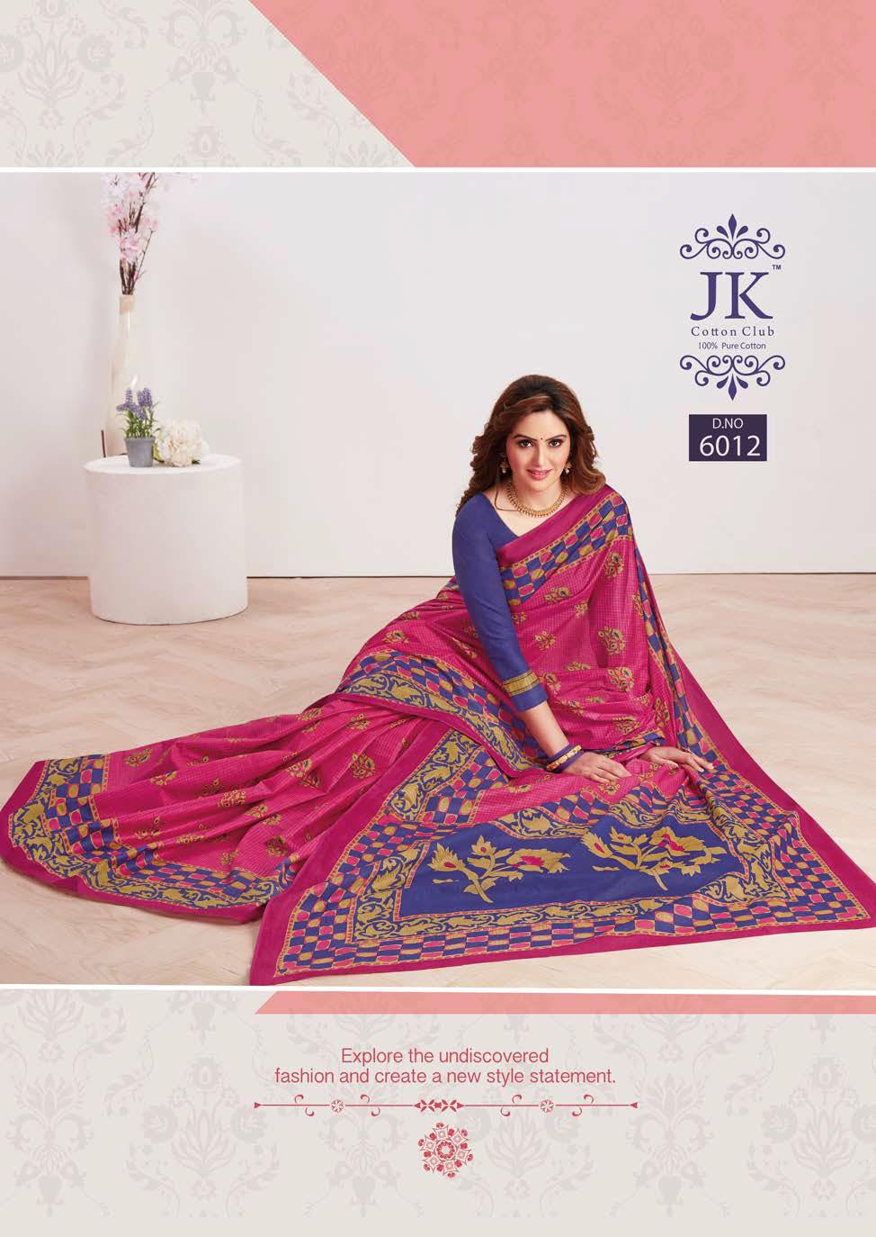 JK Tulsi Vol 6 B Saree Sari Wholesale Catalog 10 Pcs 9 - JK Tulsi Vol 6 B Saree Sari Wholesale Catalog 10 Pcs