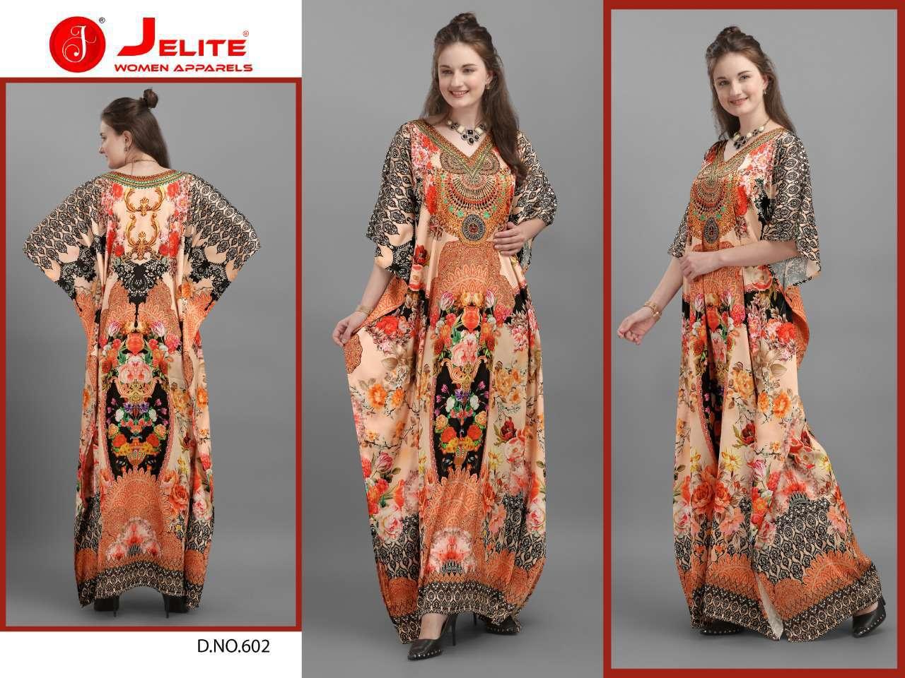 Jelite Kaftans Vol 6 Kurti Wholesale Catalog 8 Pcs 4 - Jelite Kaftans Vol 6 Kurti Wholesale Catalog 8 Pcs