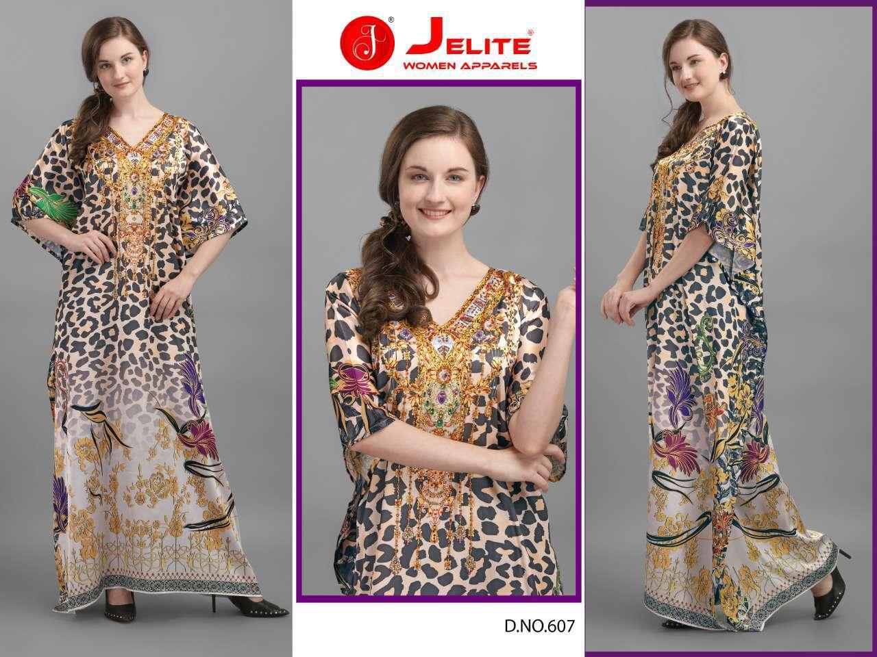 Jelite Kaftans Vol 6 Kurti Wholesale Catalog 8 Pcs 5 - Jelite Kaftans Vol 6 Kurti Wholesale Catalog 8 Pcs