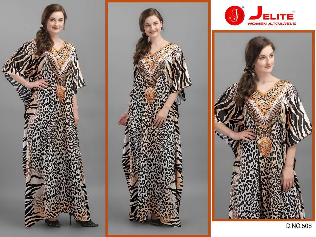 Jelite Kaftans Vol 6 Kurti Wholesale Catalog 8 Pcs 7 - Jelite Kaftans Vol 6 Kurti Wholesale Catalog 8 Pcs