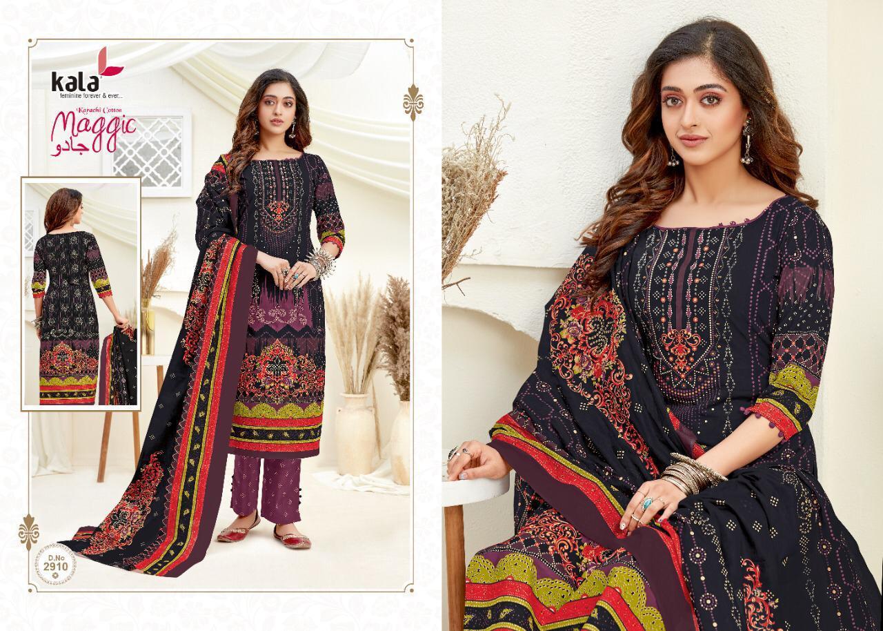 Kala Maggic Vol 14 Salwar Suit Wholesale Catalog 12 Pcs 10 - Kala Maggic Vol 14 Salwar Suit Wholesale Catalog 12 Pcs