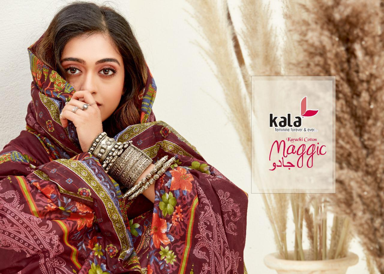 Kala Maggic Vol 14 Salwar Suit Wholesale Catalog 12 Pcs 12 - Kala Maggic Vol 14 Salwar Suit Wholesale Catalog 12 Pcs
