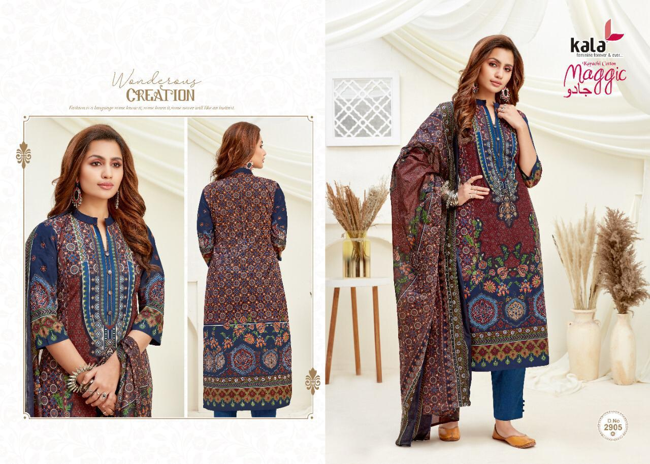 Kala Maggic Vol 14 Salwar Suit Wholesale Catalog 12 Pcs 3 - Kala Maggic Vol 14 Salwar Suit Wholesale Catalog 12 Pcs