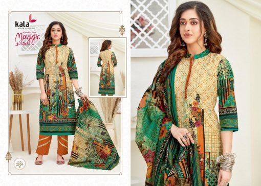 Kala Maggic Vol 14 Salwar Suit Wholesale Catalog 12 Pcs 4 510x364 - Kala Maggic Vol 14 Salwar Suit Wholesale Catalog 12 Pcs