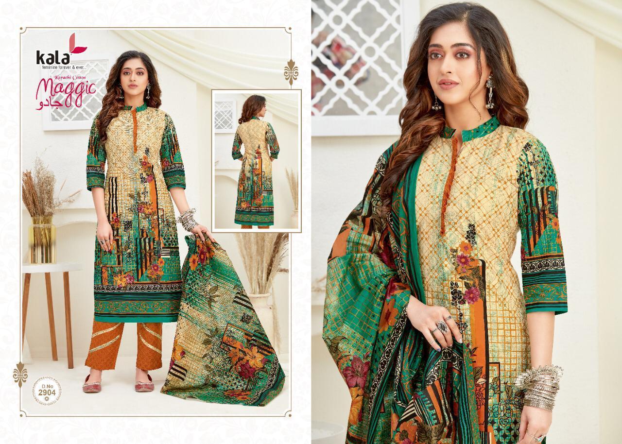 Kala Maggic Vol 14 Salwar Suit Wholesale Catalog 12 Pcs 4 - Kala Maggic Vol 14 Salwar Suit Wholesale Catalog 12 Pcs