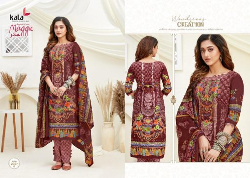 Kala Maggic Vol 14 Salwar Suit Wholesale Catalog 12 Pcs 5 510x364 - Kala Maggic Vol 14 Salwar Suit Wholesale Catalog 12 Pcs