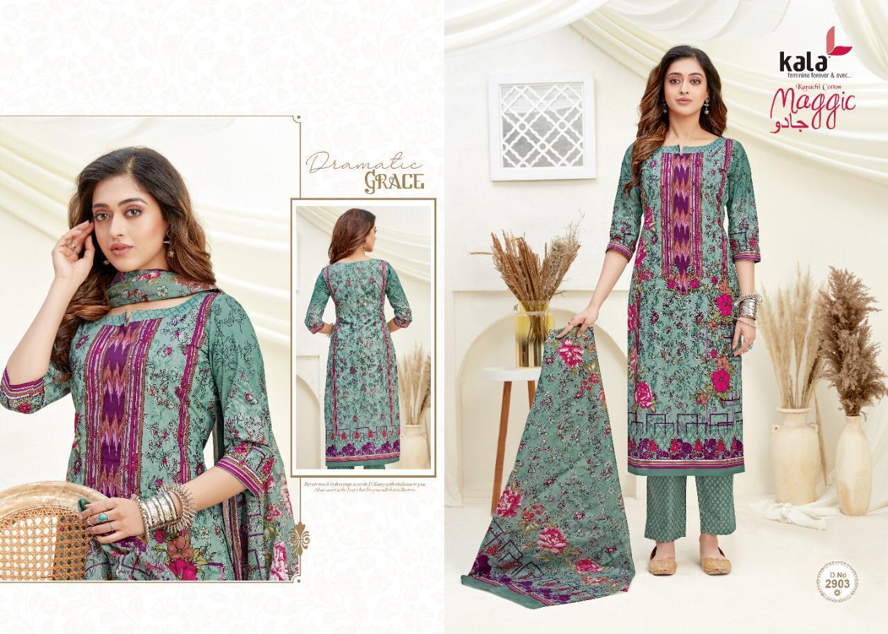 Kala Maggic Vol 14 Salwar Suit Wholesale Catalog 12 Pcs 6 - Kala Maggic Vol 14 Salwar Suit Wholesale Catalog 12 Pcs
