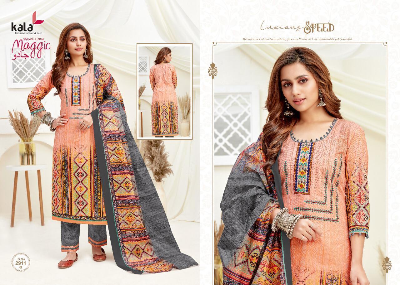 Kala Maggic Vol 14 Salwar Suit Wholesale Catalog 12 Pcs 9 - Kala Maggic Vol 14 Salwar Suit Wholesale Catalog 12 Pcs