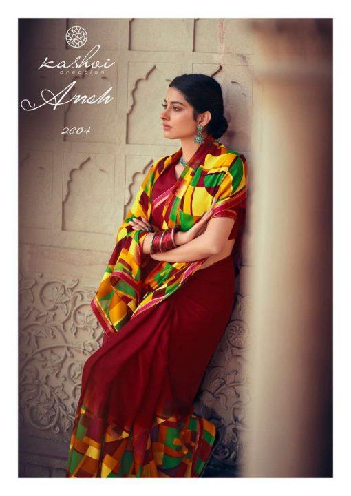 Kashvi Ansh Vol 2 by Lt Fabrics Saree Sari Wholesale Catalog 10 Pcs 11 510x720 - Kashvi Ansh Vol 2 by Lt Fabrics Saree Sari Wholesale Catalog 10 Pcs