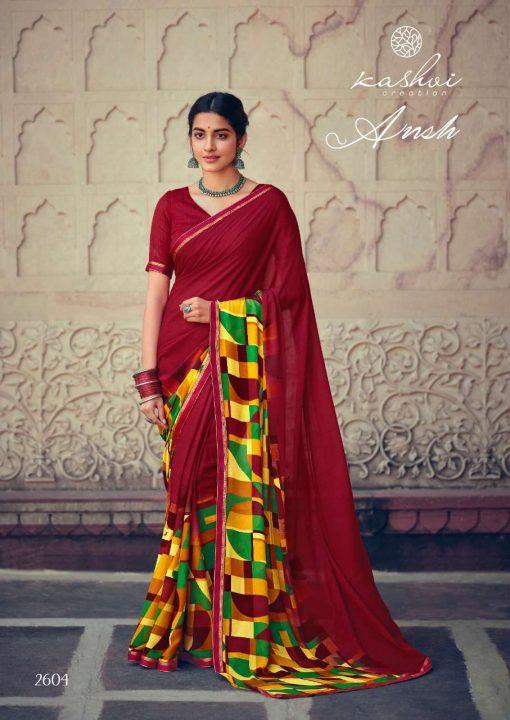 Kashvi Ansh Vol 2 by Lt Fabrics Saree Sari Wholesale Catalog 10 Pcs 14 510x720 - Kashvi Ansh Vol 2 by Lt Fabrics Saree Sari Wholesale Catalog 10 Pcs