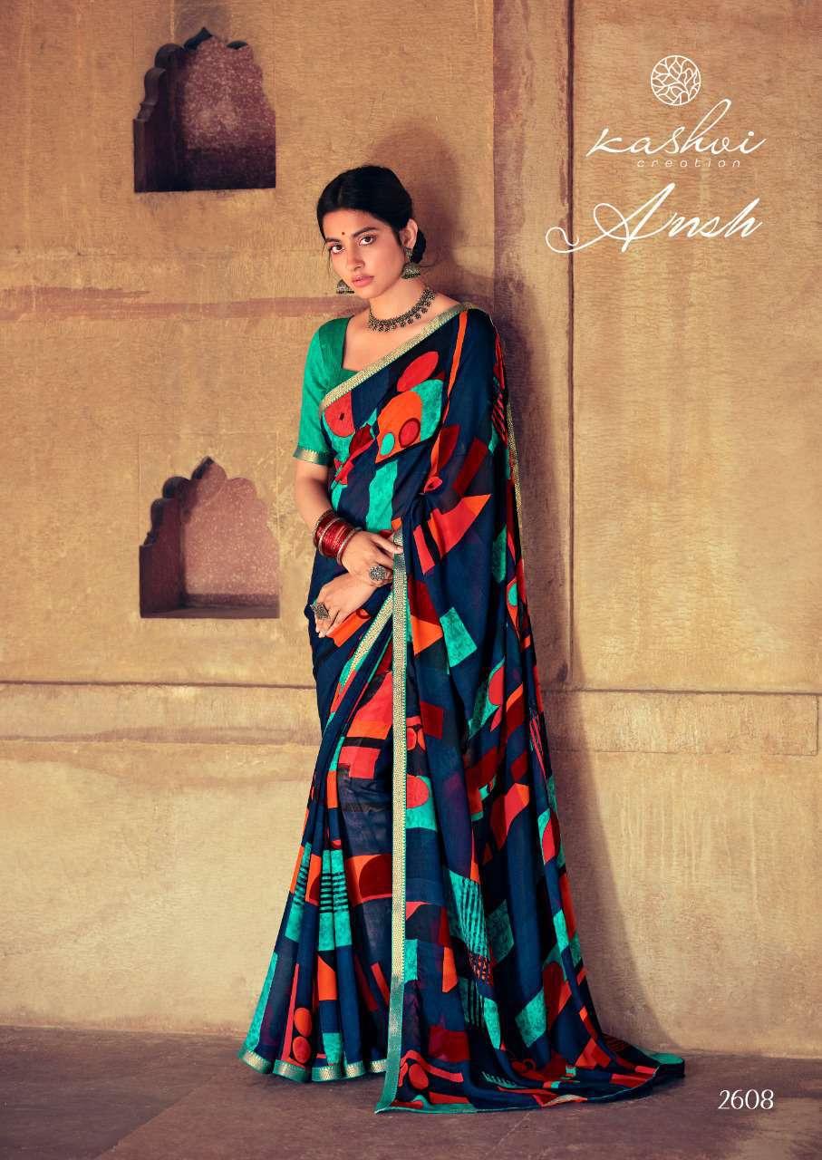 Kashvi Ansh Vol 2 by Lt Fabrics Saree Sari Wholesale Catalog 10 Pcs 21 - Kashvi Ansh Vol 2 by Lt Fabrics Saree Sari Wholesale Catalog 10 Pcs