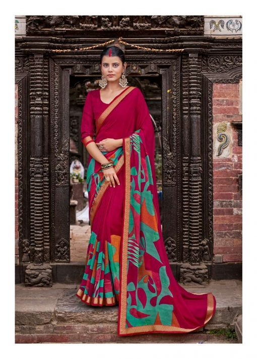 Kashvi Dhwani by Lt Fabrics Saree Sari Wholesale Catalog 10 Pcs 13 510x714 - Kashvi Dhwani by Lt Fabrics Saree Sari Wholesale Catalog 10 Pcs