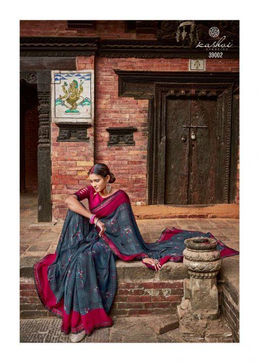 Kashvi Dhwani by Lt Fabrics Saree Sari Wholesale Catalog 10 Pcs 5 510x714 - Kashvi Dhwani by Lt Fabrics Saree Sari Wholesale Catalog 10 Pcs