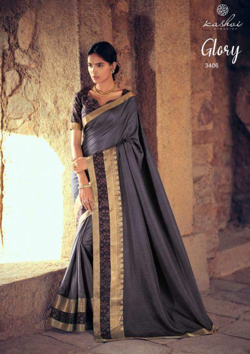 Kashvi Glory by Lt Fabrics Saree Sari Wholesale Catalog 10 Pcs 14 510x720 - Kashvi Glory by Lt Fabrics Saree Sari Wholesale Catalog 10 Pcs