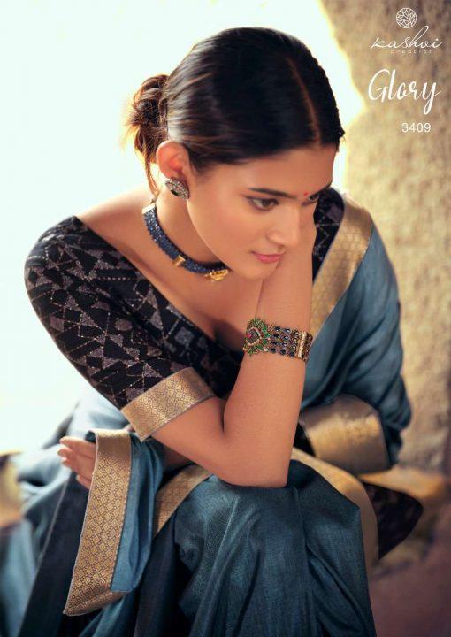 Kashvi Glory by Lt Fabrics Saree Sari Wholesale Catalog 10 Pcs 19 510x720 - Kashvi Glory by Lt Fabrics Saree Sari Wholesale Catalog 10 Pcs