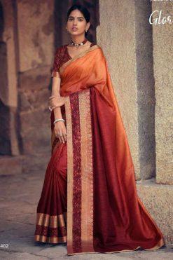 Kashvi Glory by Lt Fabrics Saree Sari Wholesale Catalog 10 Pcs